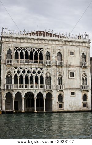 Venitian Palace Of The Grand Canal