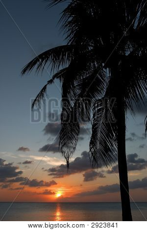 Caribbean Tropical Sunset