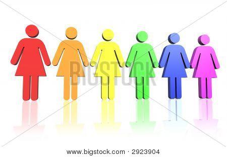 Gay Women Flag
