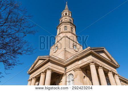 St Phillip's Church In Charleston, Sc