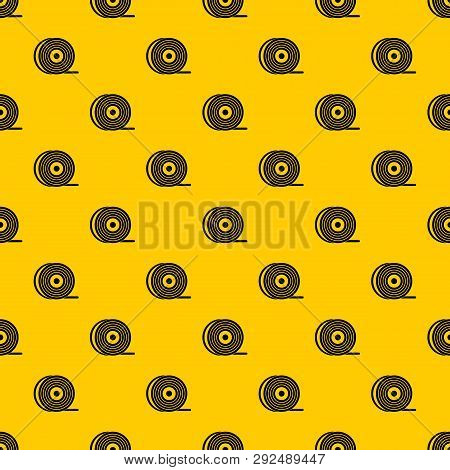 Abs Or Pla Filament Coil Pattern Seamless Vector Repeat Geometric Yellow For Any Design