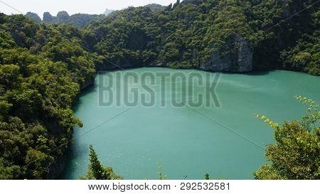 Ko Mae Ko Emerald Saltwater Lake