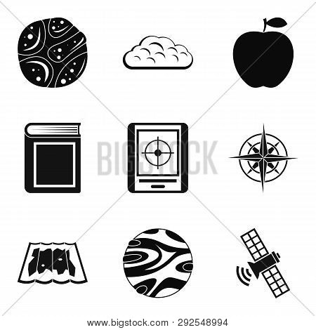 Stratosphere Icons Set. Simple Set Of 9 Stratosphere Icons For Web Isolated On White Background