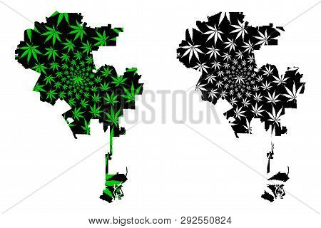 Los Angeles City (united States Of America, Usa, U.s., Us, United States Cities, Usa City)- Map Is D