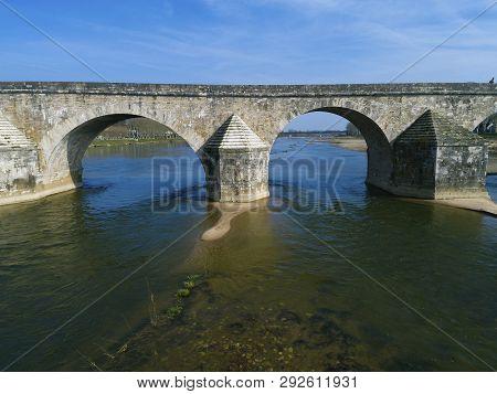 Bridge Of Gien, Loiret, Centre-val De Loire, France