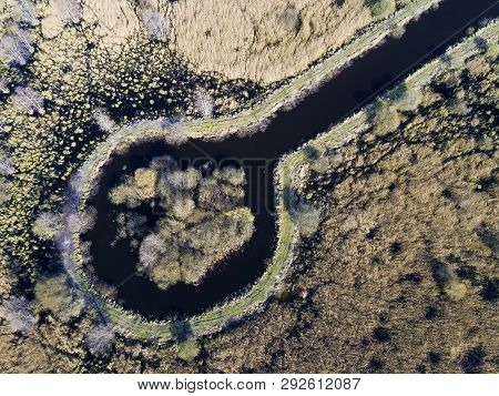 Natural Reserve Du Marsh Of Larchant, Seine-et-marne, Ile-de-france, France