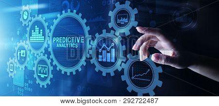 Predictive Analytics Big Data Analysis Business Intelligence Internet And Modern Technology Concept