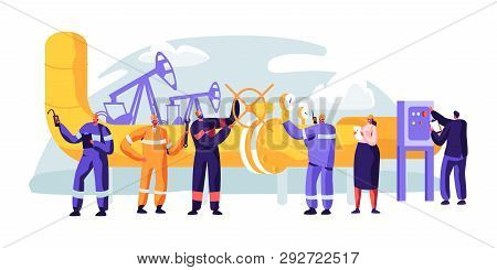 Oil Pipeline Service. Character Control And Checking Cathodic Protection Level. Surveillance Constru