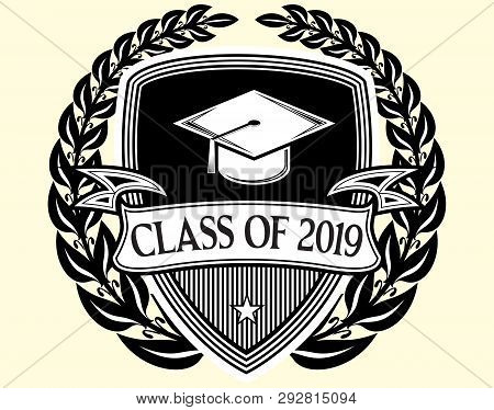 Graduation Vector Class Of 2019 Congrats Grad Congratulations Graduate.