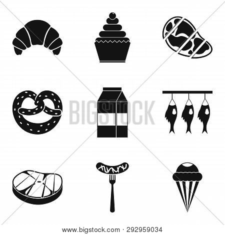 Grease Icons Set. Simple Set Of 9 Grease Icons For Web Isolated On White Background