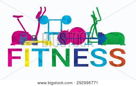 Healthy Lifestyle Vector Illustration Concept. Dieting, Fitness.
