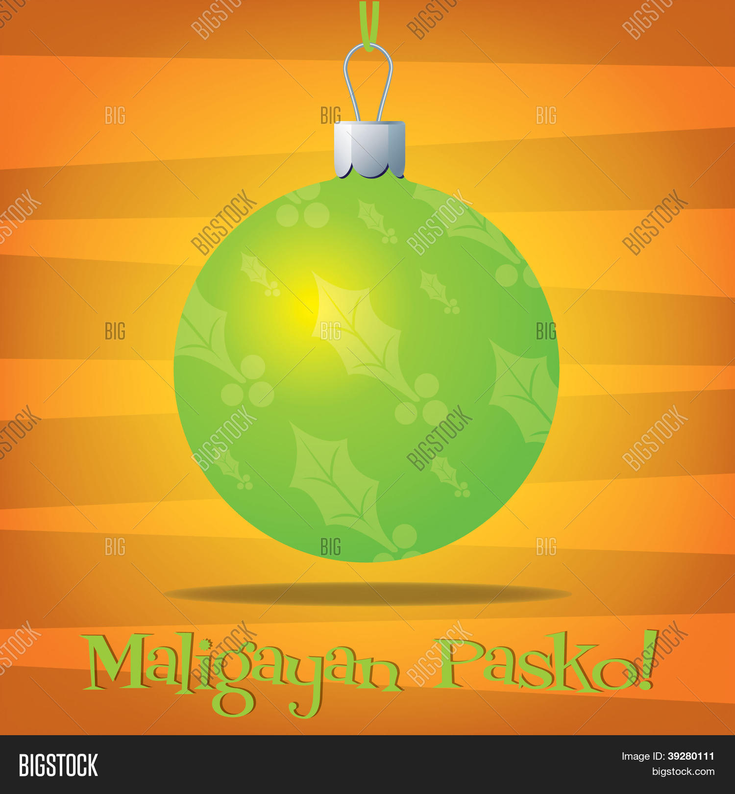 Merry Christmas In Tagalog.Merry Christmas Vector Photo Free Trial Bigstock