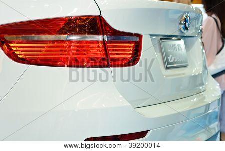 Rear Of BMW X6