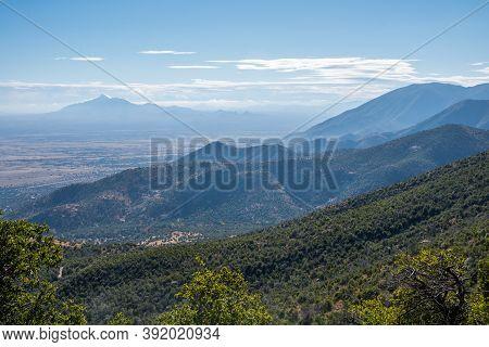 An Overlooking View Of Sierra Vista, Arizona