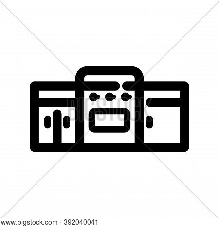 Kitchen Icon Isolated On White Background From Interior Design Collection. Kitchen Icon Trendy And M