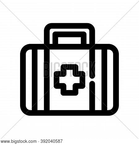 Medical Kit Icon Isolated On White Background From American Football Collection. Medical Kit Icon Tr
