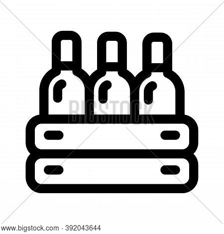 Wine Icon Isolated On White Background From Easter Collection. Wine Icon Trendy And Modern Wine Symb