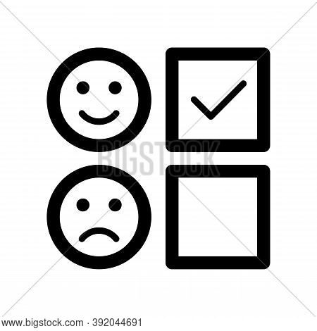 Review Icon Isolated On White Background From Customer Service Collection. Review Icon Trendy And Mo