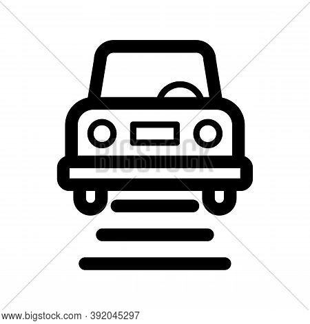 Car Lift Icon Isolated On White Background From Racing Collection. Car Lift Icon Trendy And Modern C