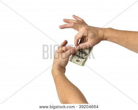 Tearing Up Money