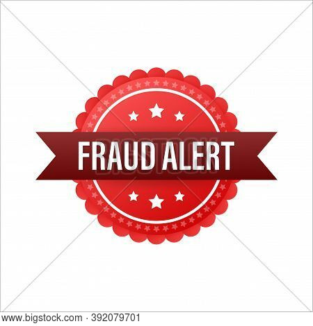 Fraud Alert. Security Audit, Virus Scanning, Cleaning, Eliminating Malware, Ransomware. Vector Stock
