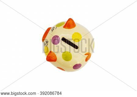 Piggybank On A White Background. To Save , Saving Money For Affordable Things, Financial Concept .pi