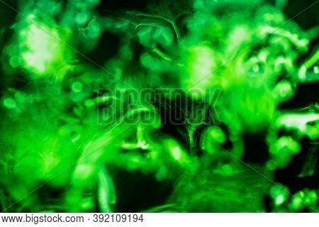 Dark Green Abstract Background Element Of Your Design.