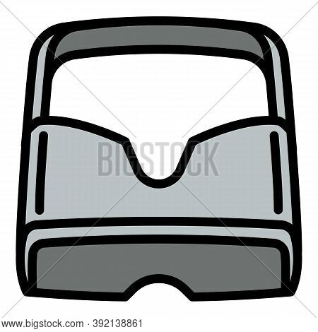 Stereoscopic Game Goggles Icon. Outline Stereoscopic Game Goggles Vector Icon For Web Design Isolate