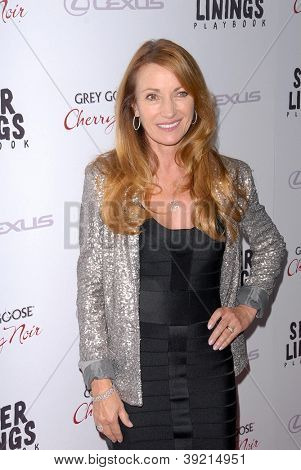 LOS ANGELES - NOV 19:  Jane Seymour arrives to the 'Silver Linings Playbook' LA Premiere at Academy of Motion Picture Arts and Sciences on November 19, 2012 in Beverly Hills, CA
