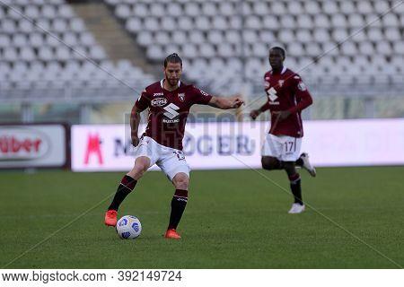 Torino, 28th October 2020. Cristian Ansaldi  Of Torino Fc In Action   During The Coppa Italia Match