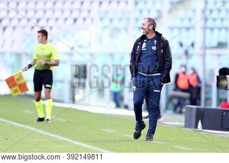 Torino, 28th October 2020. Marco Giampaolo, Head Coach Of Torino Fc,  During The Coppa Italia Match