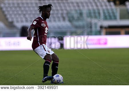 Torino, 28th October 2020. Soualiho Meite Of Torino Fc In Action   During The Coppa Italia Match  Be