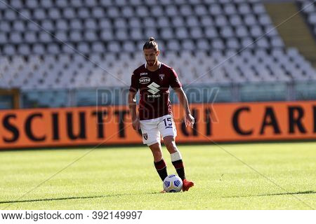 Torino, 28th October 2020. Jacopo Segre Of Torino Fc In Action  During The Coppa Italia Match  Betwe