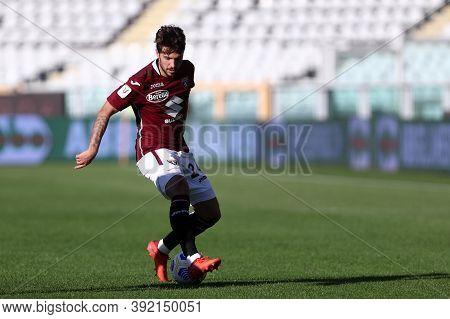 Torino, 28th October 2020. Simone Verdi Of Torino Fc In Action   During The Coppa Italia Match  Betw