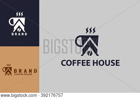 Coffee House Logo, Suitable For Coffee Shop Logo Or Product Brand Identity.