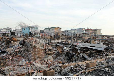 Hurrikan sandigen Zerstörung