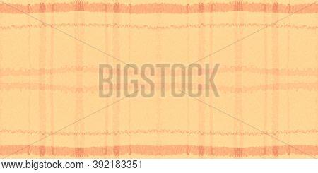 Summer Tartan Pattern. Watercolour Picnic Repeat. Wool Squares For Tile Design. Seamless Red Tartan