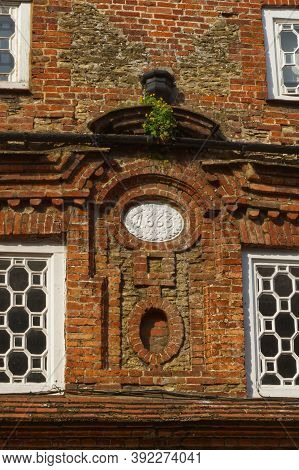 Detail Of Architecture Of Old Buildings In Shopping Street, Godalming, Surrey, England