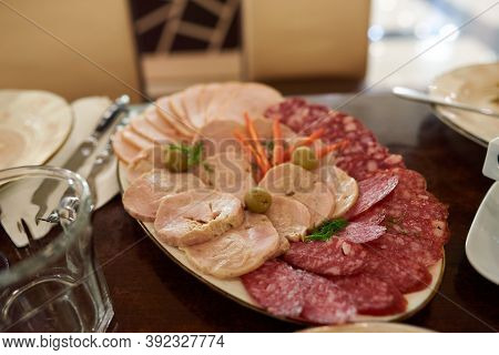 Lunch Meats Are Precooked Or Cured Ones That Are Sliced And Served Cold Or Hot