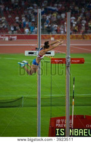 Russian Pole Vaulter Breaks World Record