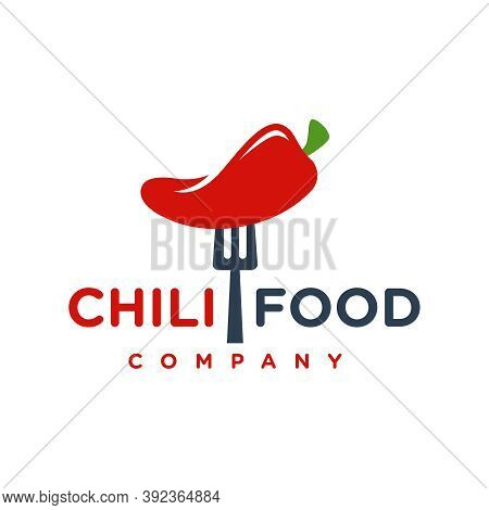 Red Chilli Food Logo Design Or Your Brand