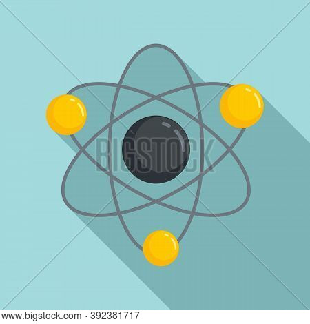 Science Gravity Icon. Flat Illustration Of Science Gravity Vector Icon For Web Design