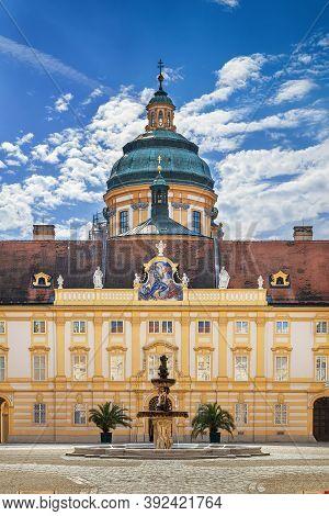 Melk Abbey Is A Benedictine Abbey Above The Town Of Melk, Lower Austria, Austria.