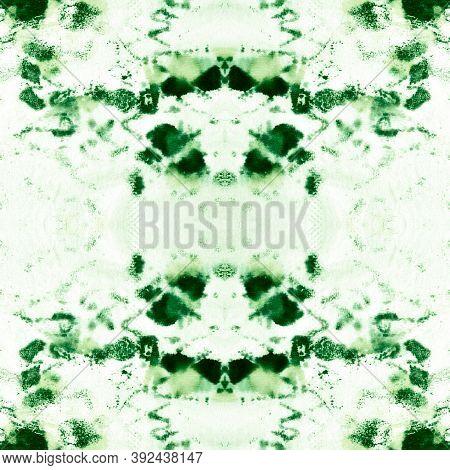 Seamless Cobra Pattern. Python Or Cobra Wild Print. Jungle Wild Illustration. Green Color Rapport. A