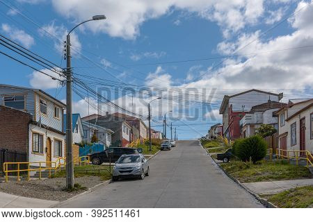 Cityscape Of Punta Arenas, Magallanes Region, Chile