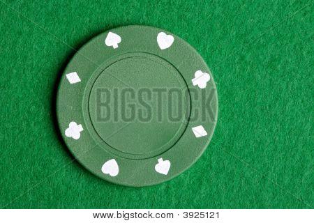 Verde Poker Chip