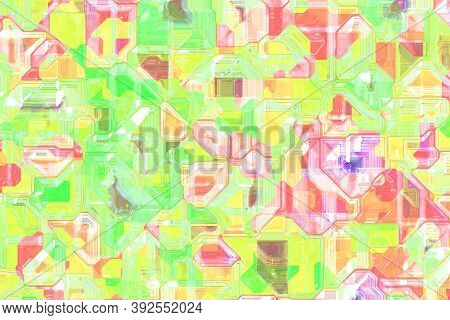 Nice Cybernetic Optic Wire Pattern Computer Graphics Texture Illustration