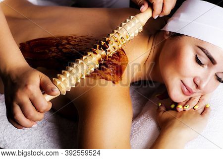Wooden Massage Devices. Instrument For Madero Therapy. Anticellulite Massage.