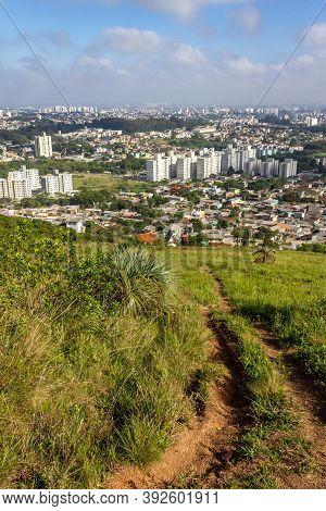 Porto Alegre Cityview From Morro Santana