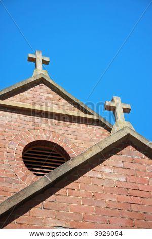 2 X Concrete Crucifix
